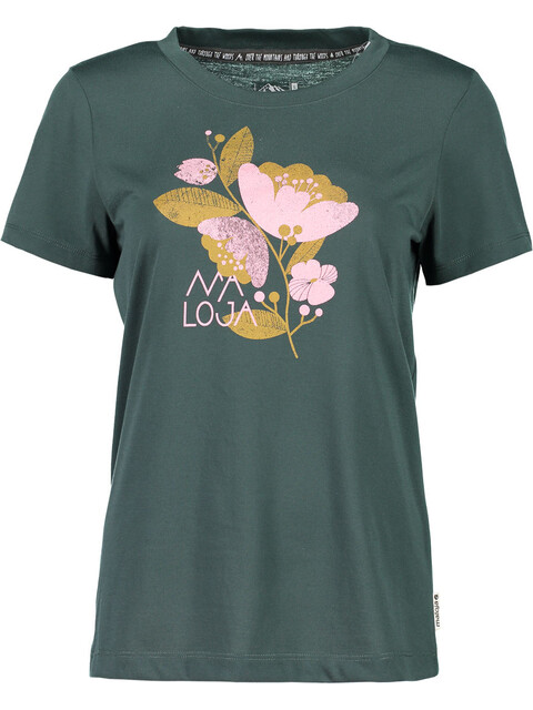 Maloja RahelM. Multi Short Sleeve Jersey Women pinetree